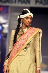 Vikram Phadnis Show at Rajasthan Fashion Week 2013  Find Similar Exclusive Laces and fabrics @ www.lacxo.com