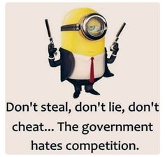 The Minions Despicable  Me Govt.....