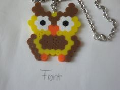 Owl hama perler beads by JohnsonKathy