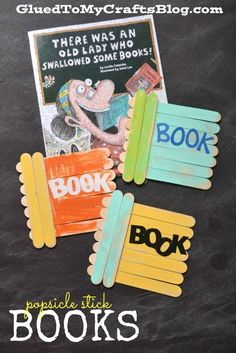 There Was an Old Lady Who Swallowed Some Books reading response craft