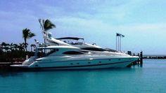 2000 Sunseeker Manhattan 84 for sale FL US - Galati Yacht Sales