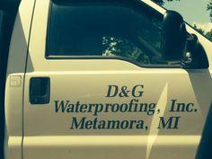 June 16, 2014 Waterproofing of basement commences..