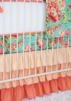 Floral nursery bedding