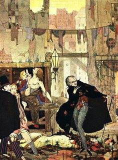 Harry Clarke -The Man of the Crowd