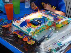 Splatoon Cake!
