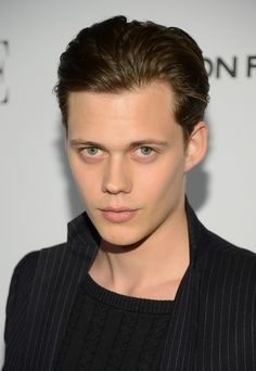 The Skarsgard family knows how to procreate just as well as the Efron's and the Hemsworths. This is Bill Skarsgard. (Hemlock Grove)