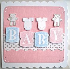 Petite Fleur Paperie: Stampin' Up Baby Cards !