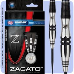 Winmau Zagato Darts - Steel Tip Tungsten - C Axis Control - S3 - Pure Elegance - 22g - http://www.dartscorner.co.uk/product_info.php?products_id=19430