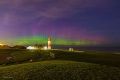 The #NorthernLights in #SouthShields. Northern England, North East England, Uk Homes, Newcastle, Homeland, East Coast, Northern Lights, Places To Go, History