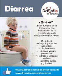 Diarrea, ¿cómo alimentarlo? Ver más en: http://www.drmarioenconsulta.com.ar/?p=2074