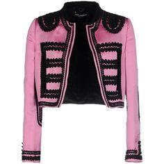 Dolce & Gabbana Blazer ($1,785) ❤ liked on Polyvore featuring outerwear, jackets, blazers, light purple, velvet blazer, print jacket, dolce gabbana blazer, velvet jacket and pattern jacket