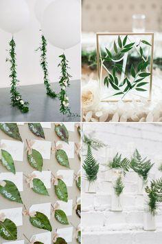 Hochzeitstrend 2017 Greenery   #hochzeitsdekoration #hochzeitsdetails #dekodetails #hochzeitsideen #grünehochzeit #hochzeitskonzept #greenery