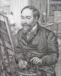 Steinlen, engraved by Pieter Dupont, 1901