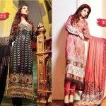 Shaista Cloths Beautiful Winter Dresses 2013-14 For Women