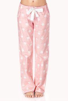Sleepy Head PJ Pants | FOREVER21 - I love these!!!