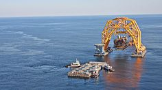 America's Biggest Claw Game Plucks Oil Rigs from the Briny Deep
