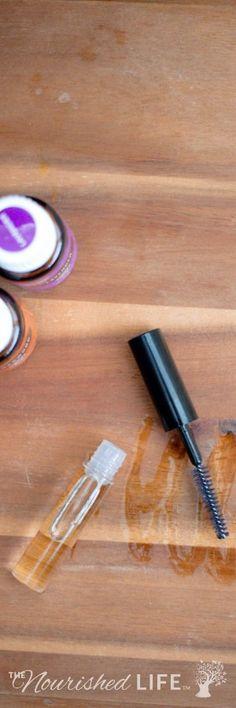 DIY Eyelash Growth Serum Recipe