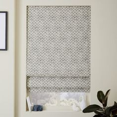 Contemporary Roman Shades and Blackout Liner | west elm