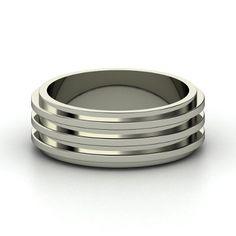 Men's Sterling Silver Ring | Spinning Ring | Gemvara