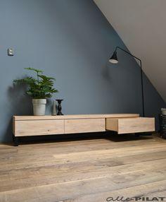 Tv Furniture, Industrial Furniture, Living Room Furniture, Flat Ideas, Living Room Tv, Tv Cabinets, My Dream Home, Loft, Lounge