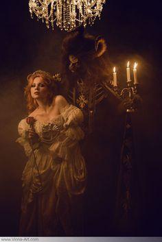 la Belle et la Bete www.viona-art.com Viona-Art | contemporary romantic photography & art direction