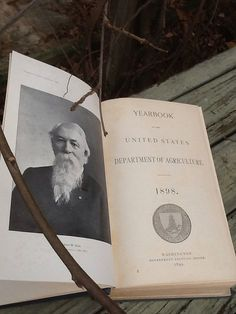 Yearbook of the Department of Agriculture 1898 on Etsy, $48.00