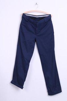 Nike Golf Mens 32x32 M Trousers Navy Cotton Regular Fit - RetrospectClothes