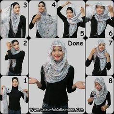 scarf wrapping method