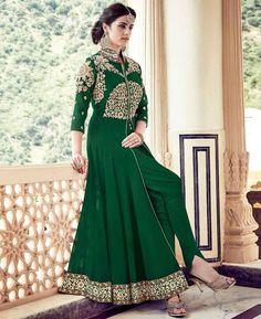 #hey @a1designerwear . Item code: APRL6152 . Buy Shapely Green Party Wear #salwar #kameez #onlineshopping with #worldwideshipping at  https://www.a1designerwear.com/shapely-green-party-wear-salwar-kameez-3   . #a1designerwear #a1designerwear . #instashop #worldwide #thankyou