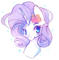 My little pony rarity with a super cool makeover