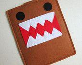 Handmade Felt Kindle Case Kindle 3 Cover Kindle Fire by ohmycake