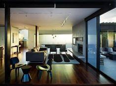 Modern Decor. Wood Flooring.