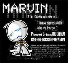 Marvin the Robot by ~SelanPike on deviantART