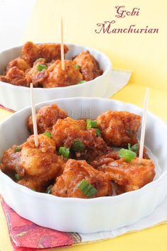 Gobi (Cauliflower) Manchurian – Indo-Chinese Food