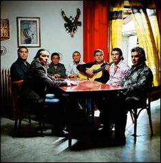 The Gipsy Kings consist of two bands of brothers: the Reyes (Nicolas, Canut, Paul, Patchai, Andre) and the Baliardos (Tonino, Paco, Diego).  The Reyes and Baliardo boys were the offspring of Spanish gypsy families that had fled into France to escape Spain's Civil War. They grew up roaming the south of France, working harvests and making music.