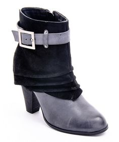 Take a look at this Black Suede DaBomb Boot by Envy on #zulily today! $25 !!
