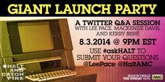 Twitter Q&A Session with @LEEPACE and other cast members of Halt and Catch Fire for the season 1 finale.