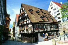 Crooked house of Ulm