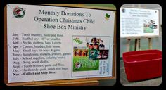 Does your fellowship hold a Church-wide Operation Christmas Child packing party? Here is a great way to encourage YOUR congregation to donate – all year long. Christmas Child Shoebox Ideas, Operation Christmas Child Shoebox, Kids Christmas, Christmas Gifts, Operation Shoebox, Samaritan's Purse, Simple Gifts, Party Packs, Packing