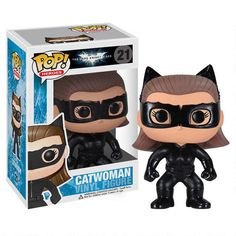 One of my favorite discoveries at WBShop.com: The Dark Knight Rises: Catwoman Vinyl Pop! Figure