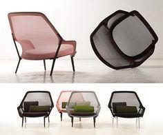 Slow Chair & Ottoman by Ronan & Erwan Bouroullec for Vitra