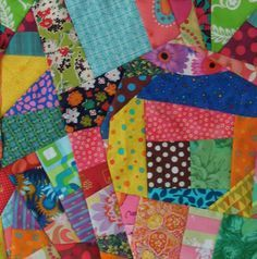 15 minute crazy blocks for quilts THIS IS A MUST MAKE...SO EASY!!!! ALL MY SCRAPS WILL NOT GO TO WASTE!