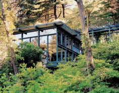 Russel Wrights Home and Studio; Manitoga (1941-1961), located in Garrison, New York, U.S.