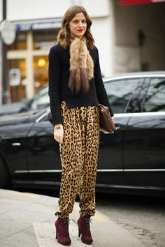 Amanda Brooks <3 the pants.