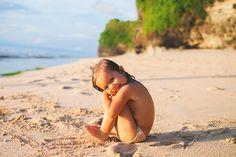 Taya on Dreamland beach