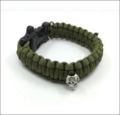 NEW RELEASE - FREE Paracord Skull Bracelet. Just Cover S/H