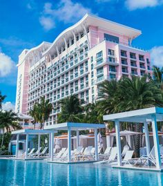SLS Baha Mar opens: Travel Weekly Bahamas Vacation, Nassau Bahamas, Vacation Trips, British Virgin Islands Vacations, Travel News, Luxury Life, South Beach, Luxury Travel, Places