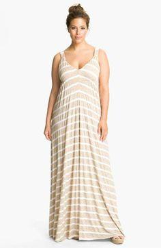 Plus Size Maxi Dresses 2014 - Looks super comfy