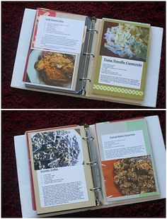 Create a unique and useful 5x5 x 8.5 recipe book to house your favorite recipes--mine and yours! These kits will include 6 divider pages along with the recipe pages