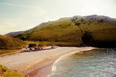 Cwmtydu beach